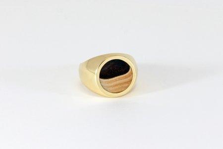 Legier Round Stone Signet Ring - Wonderstone