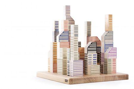 Kids Bajo Manhattan Block Set