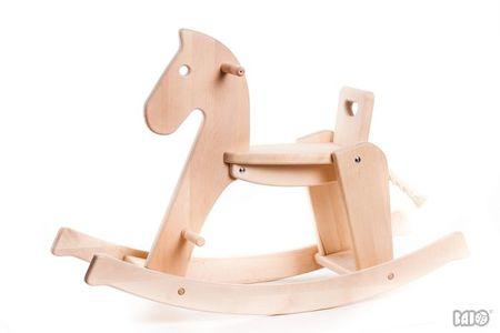 Kids Bajo Wooden Rocking Horse