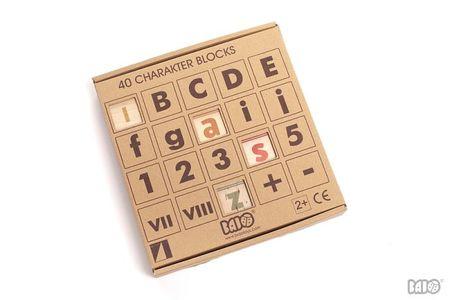 Kids Bajo Wooden Complex Alphabet
