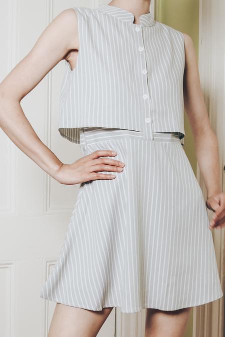 OPUSION Striped Mini Dress