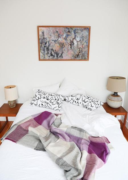 Travis Meinolf Small Handwoven Blanket #1