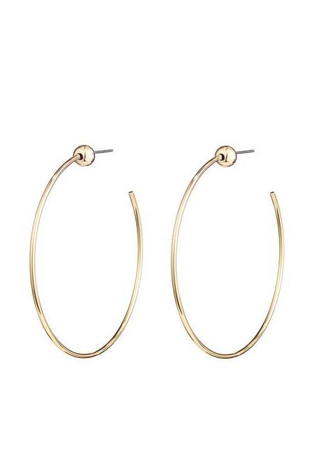 Jenny Bird Icon Hoops - Gold