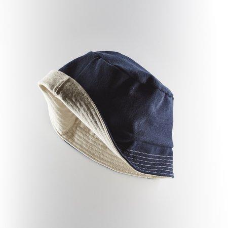 Arpenteur Breton Jersey Bucket Hat - Navy