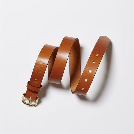 Tanner Goods Classic Belt - Tan/Brass