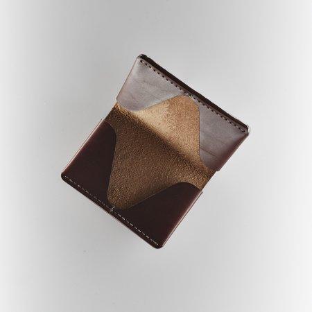 MAKR Horizon 4 Wallet - Ox Blood Leather