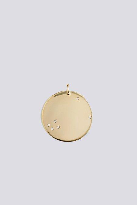 Trine Tuxen Mini Taurus Pendant - gold