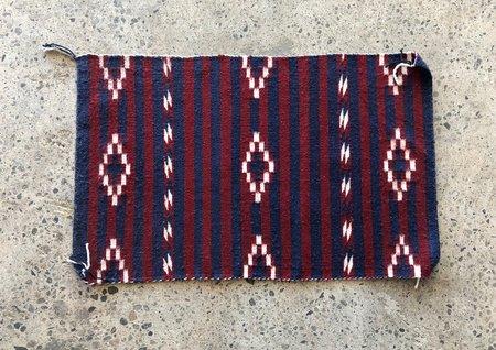 Navajo Woven Rug - Navy