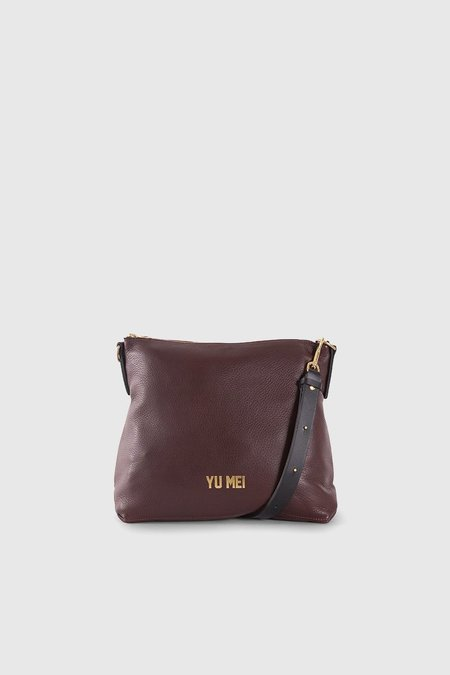 Yu Mei 3/4 Braidy Bag - Bordeaux