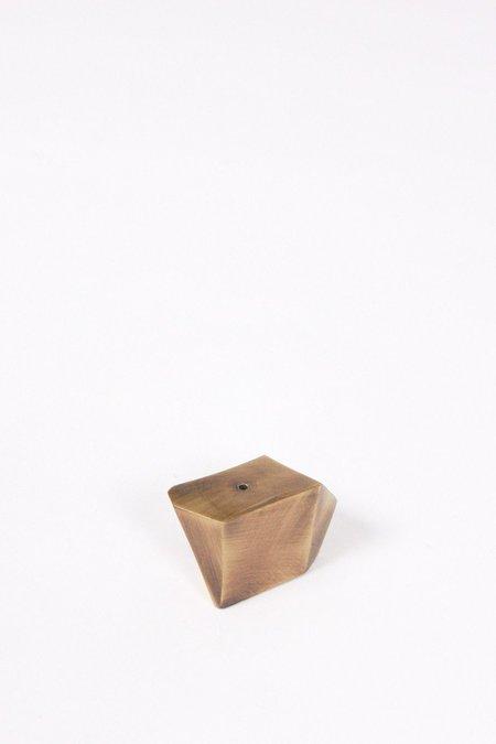 MAAPS Boulder incense holder - Brass