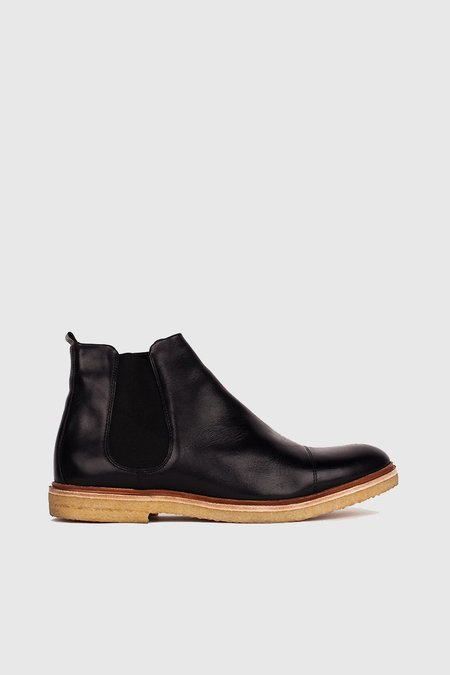 Royal Republiq Cast Crepe Chelsea Boot - Black