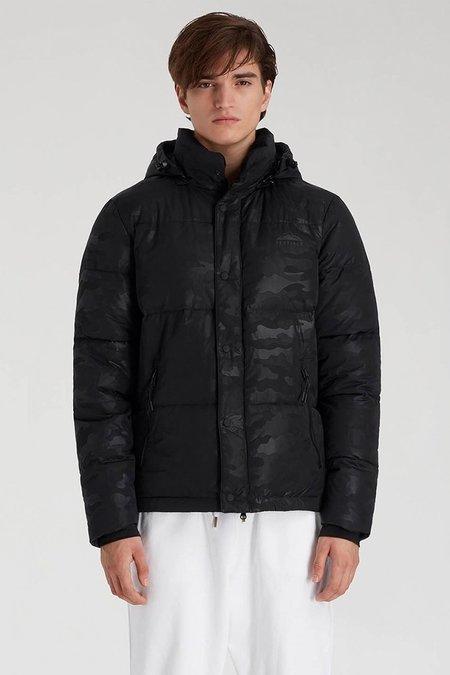 Penfield Equinox Camo Jacket - Black