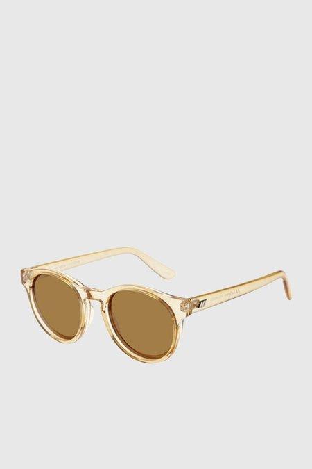 Unisex Le Specs Hey Macarena sunglasses - Blonde/Brown Mono
