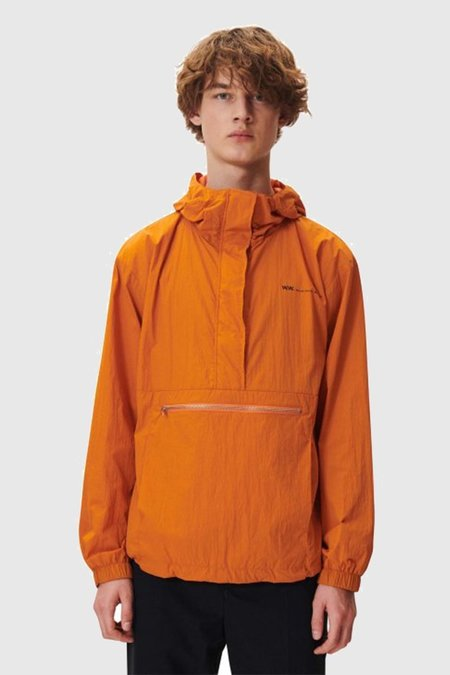 Wood Wood Loy Jacket - Dark Orange
