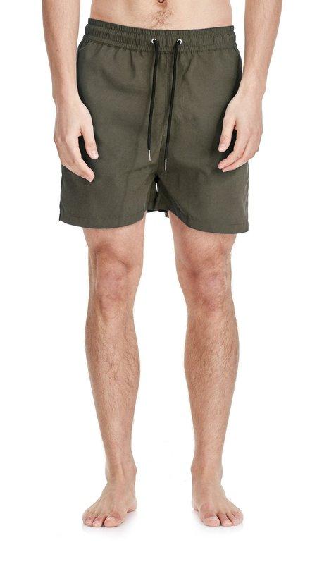 Commoners Nylon Swimmer Shorts - Fern