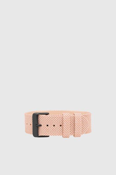 TID Watches Twain Wristband - Salmon/Black
