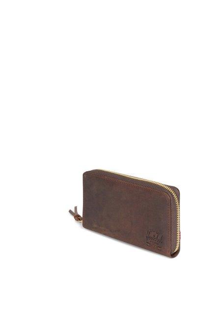 HERSCHEL SUPPLY CO Leather Thomas Wallet - Nubuck