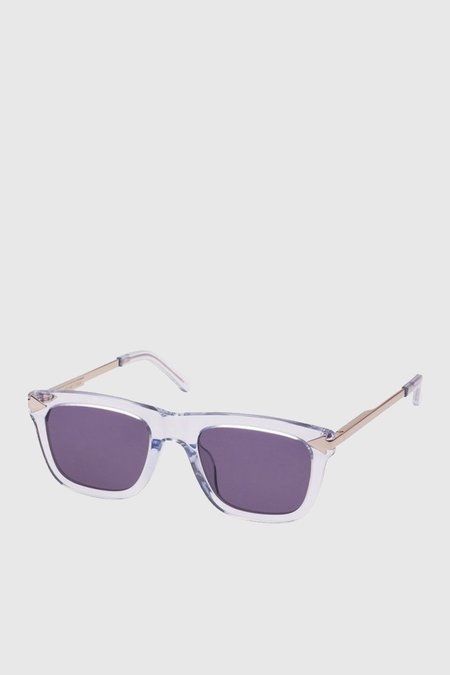 Unisex Karen Walker Eyewear Voltaire - Crystal Grey Clear