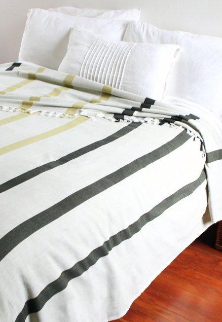 New Market Goods Khala Wide Striped Duvet Cover