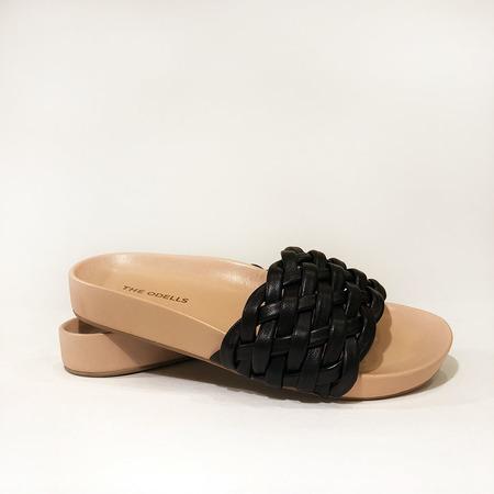 The ODELLS Braided Slides - Noir