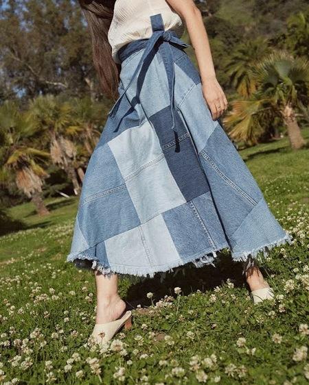 Studio LA Gabby Skirt - Patchwork
