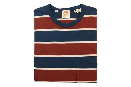 Levi's Vintage Clothing 1960's Casuals - Dark Denim/Multi Stripe