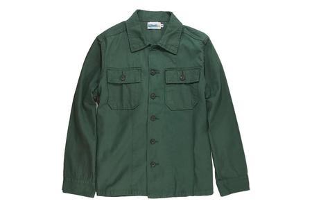 Milworks OG -107 Utility Shirt - Green Satin