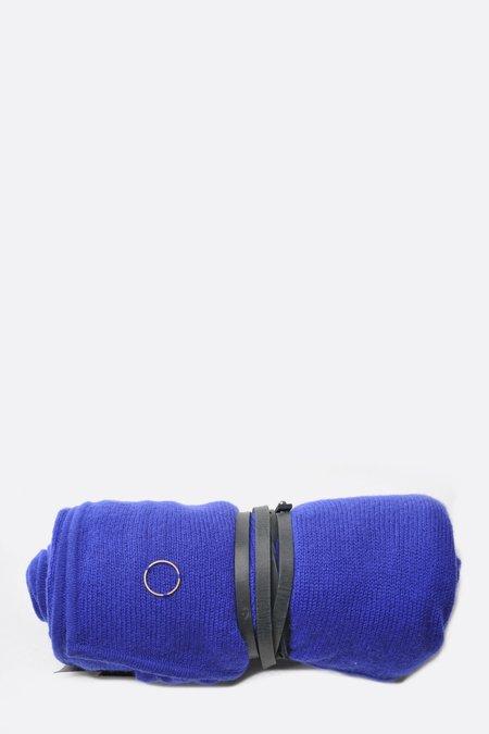 Oyuna Cashmere Travel Blanket/Wrap - Ultramarine