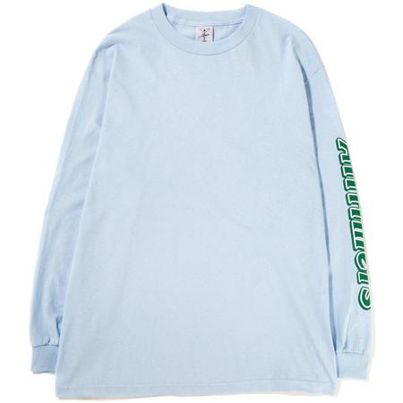 Alltimers Choco Long Sleeve T-shirt - Powder Blue