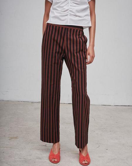Rachel Comey MOTT PANT - Red/Black