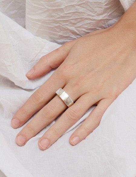 Erin Considine Llano Ring - Brass