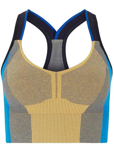 LNDR Trigger Sports Bra - Blue Mustard