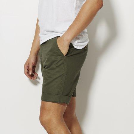Footage Newport Slim Shorts - Military Olive