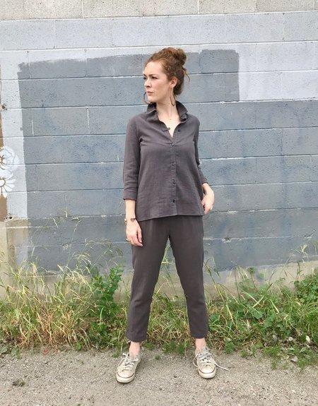 wrk-shp Atelier Shirt - Mud Grey