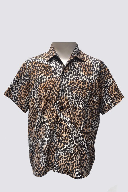 Assembly New York Camp Button Up - Cheetah