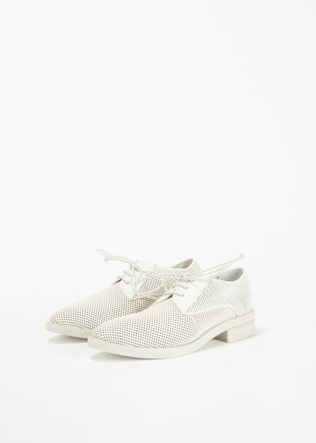 Marsèll Cuneone Perforated Derby - white
