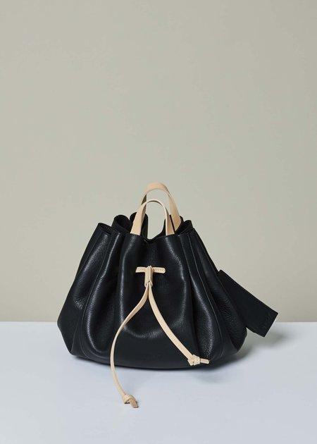 Marsèll Women's Oblo Cinch Tote - black/natural