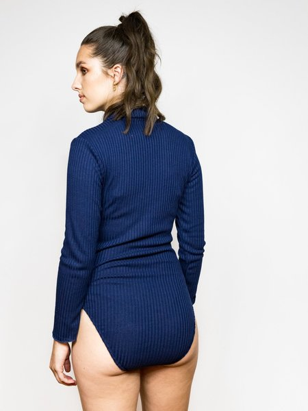 Samantha Pleet Sun + Moon Bodysuit - Midnight