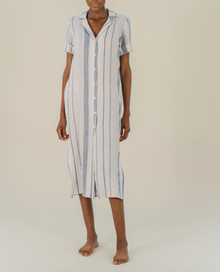 Sunad Thar Dress - Stripe
