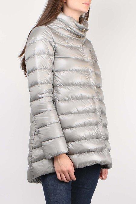 Herno Classic Nylon Hilo Coat - STEEL
