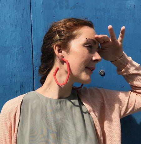Rachel Comey Emory Earrings - Coral