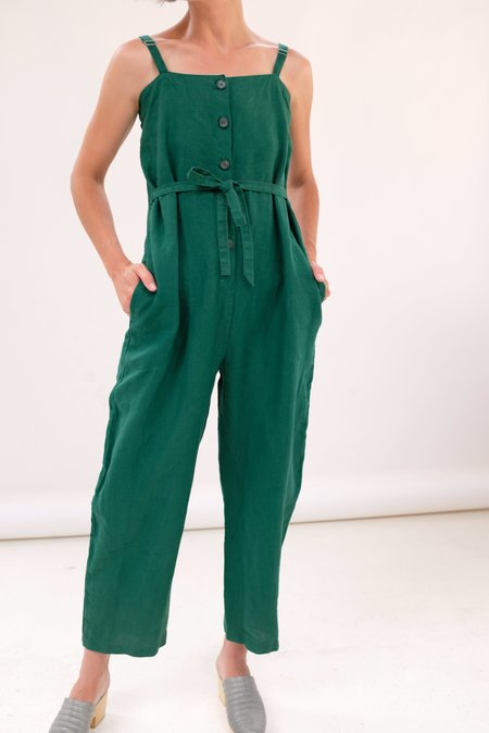 Gravel & Gold Twyla Jumpsuit - Basil