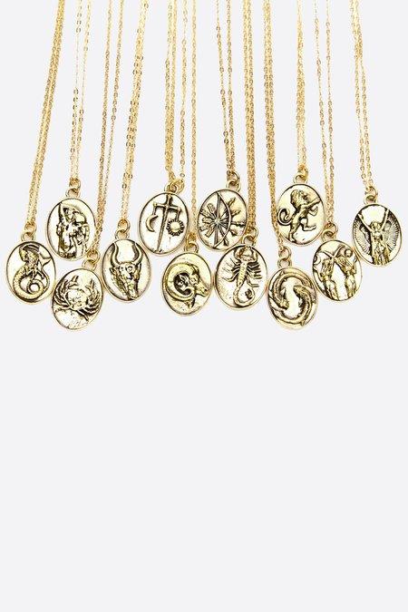 Talon Gold Gemini Necklace