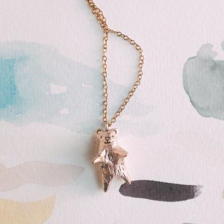 Dawning Collective Bear Necklace
