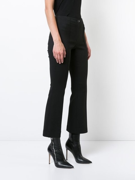 Helmut Lang Cropped Flare Pants