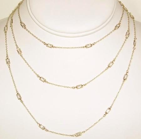 """Sophia & Chloe 36"""" Long Chain Necklace"""