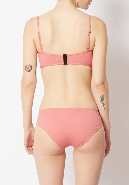 Her Line Suzi Top and Low Brief Set - pink
