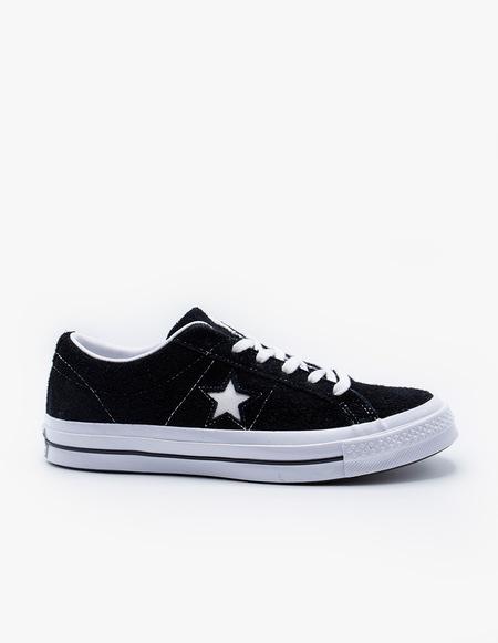 Converse One Star OX - BLACK
