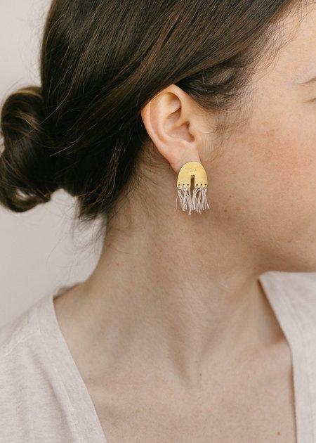 Lumafina Arco Iris Studs - Brass