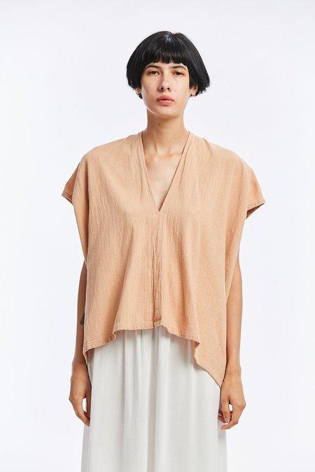 Miranda Bennett Rare Breed Collection Textured Cotton Everyday Top - Cutch 1